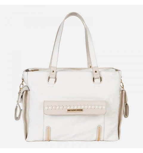 Bolso maternal beige MAYORAL